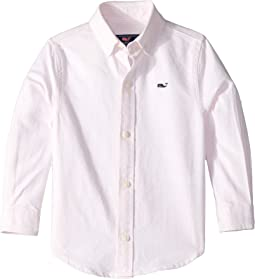 Fine Line Oxford Whale Shirt (Toddler/Little Kids/Big Kids)