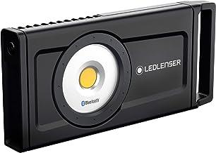 Ledlenser iF8R professionele bouwspot met Bluetooth-bediening en instelbare helderheidsniveaus, oplaadbaar