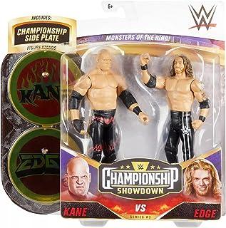 WWE Kane vs Edge Championship Showdown 2-Pack 6-in / 15.24-cm اکشن فیگورهای Monsters of the Ring Battle Pack برای سنین 6 سال