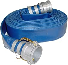 Abbott Rubber PVC Discharge Hose Assembly, Blue, 2