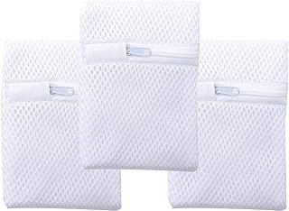 洗濯洗剤ネット 粉せっけんネット 溶け残りが衣類につかない 洗濯DIY 3枚