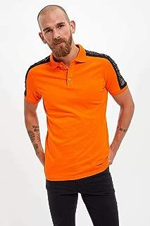 DeFacto Baskılı Polo T-Shirt