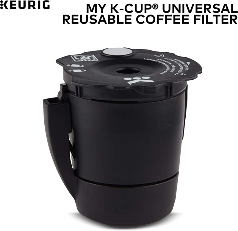 Keurig My K Cup Universal Reusable Ground Coffee Filter Compatible With All Keurig K Cup Pod Coffee Makers 2 0 And 1 0