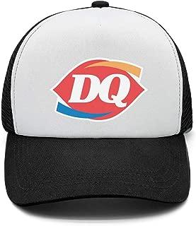 Men's Fashion Snapback Hat Dairy-Queen-Logo- Adjustable Dad Cap
