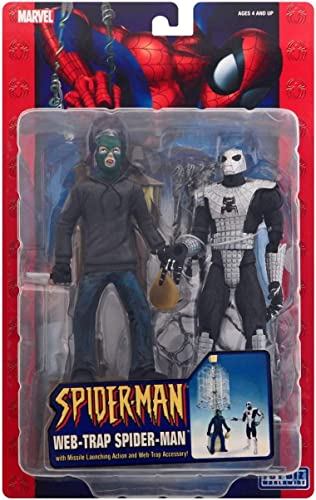 Spider-homme Web Hero 15cm Web-Trap Figurines Set
