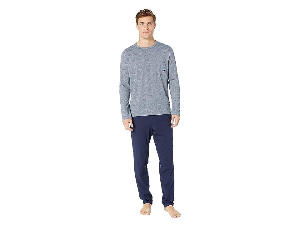 HOM Comfort Long Sleepwear (Navy) Men