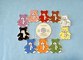 Teddy Bears Flannel Board Felt Set Story Time with Music CD