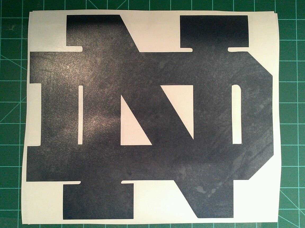 Notre Dame Cornhole Popular brand Courier shipping free shipping in the world 2 Decals -