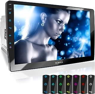 XOMAX XM-2V1004 Radio de Coche con Pantalla Táctil XXL Ajustable (10