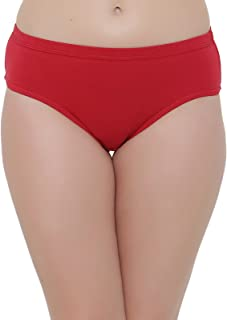 Clovia Cotton Mid Waist Hipster Panty with Inner Elastic
