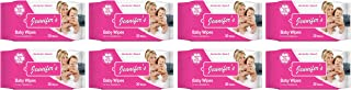 Jennifer's Baby Wipes 30 Pieces Per Pack, Pack of 8