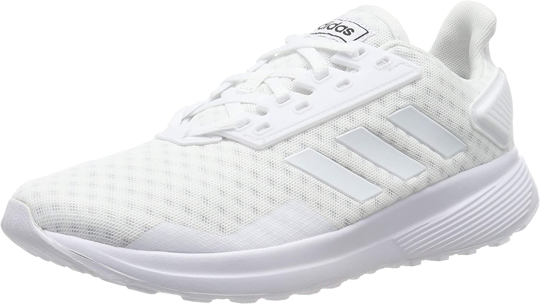 Adidas Damen Duramo 9 Laufschuhe, Weiß