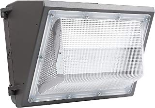 Cinoton LED Wall Pack Fixture Light, 5000K,60W 7200 Lumens,150-300W Hps/HID Replacement, Waterproof and Outdoor Rated