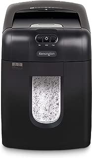 Kensington Shredder - Officeassist A1300 Auto-Feed Anti-Jam P4 130 Sheet Crosscut Shredder (K52079AM)