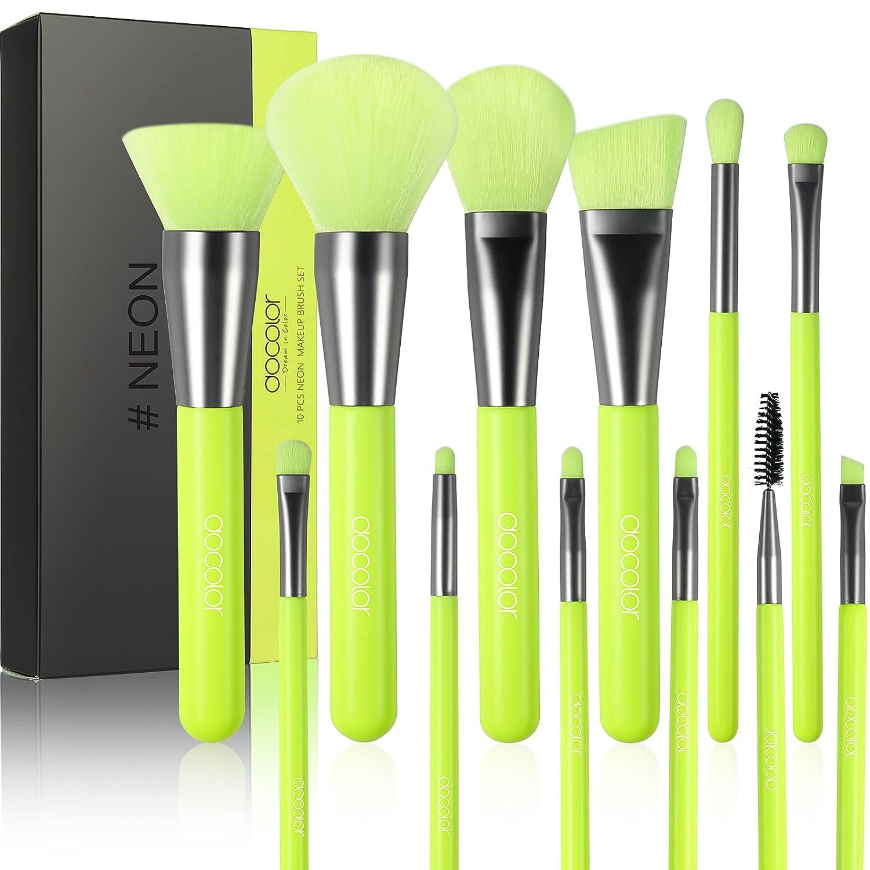 Docolor Makeup Brushes 10 Ranking TOP16 Sale Pcs Kabuki Synthetic Foundatio Premium