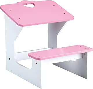Beverly Hills Doll School Desk Wooden Classroom Furniture Accessories Fits 18 Inch American Girl Doll. Made with Extra Durable Solid Wood