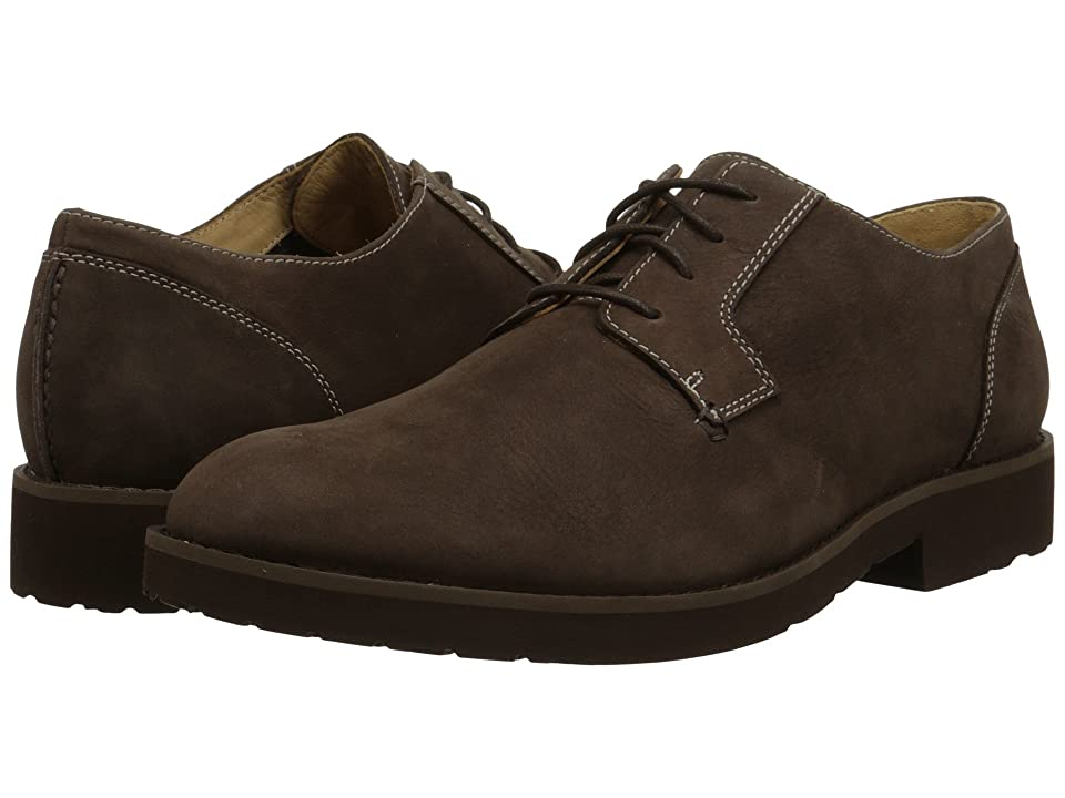 Sebago Rutland Lace Up (Dark Brown Nubuck) Men