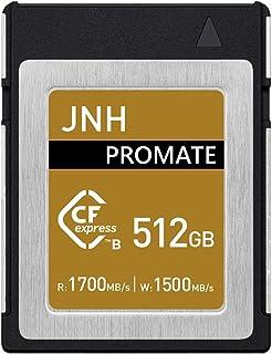 CFexpress Type B メモリーカード 512GB JNH 読取り速度最大1700MB/s RAW 4Kビデオ対応【 5年保証 】