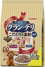 グラン・デリ カリカリ仕立て 成犬用 新食感ささみ入り粒・本物小魚・角切りビーフ粒入り 1.8kg