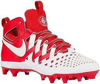 Nike Huarache V Lacrosse Challenge Red/White Size 16