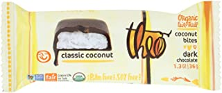 Theo Chocolate Organic Coconut Bites - Dark Chocolate Classic Coconut - 1.3 Oz -