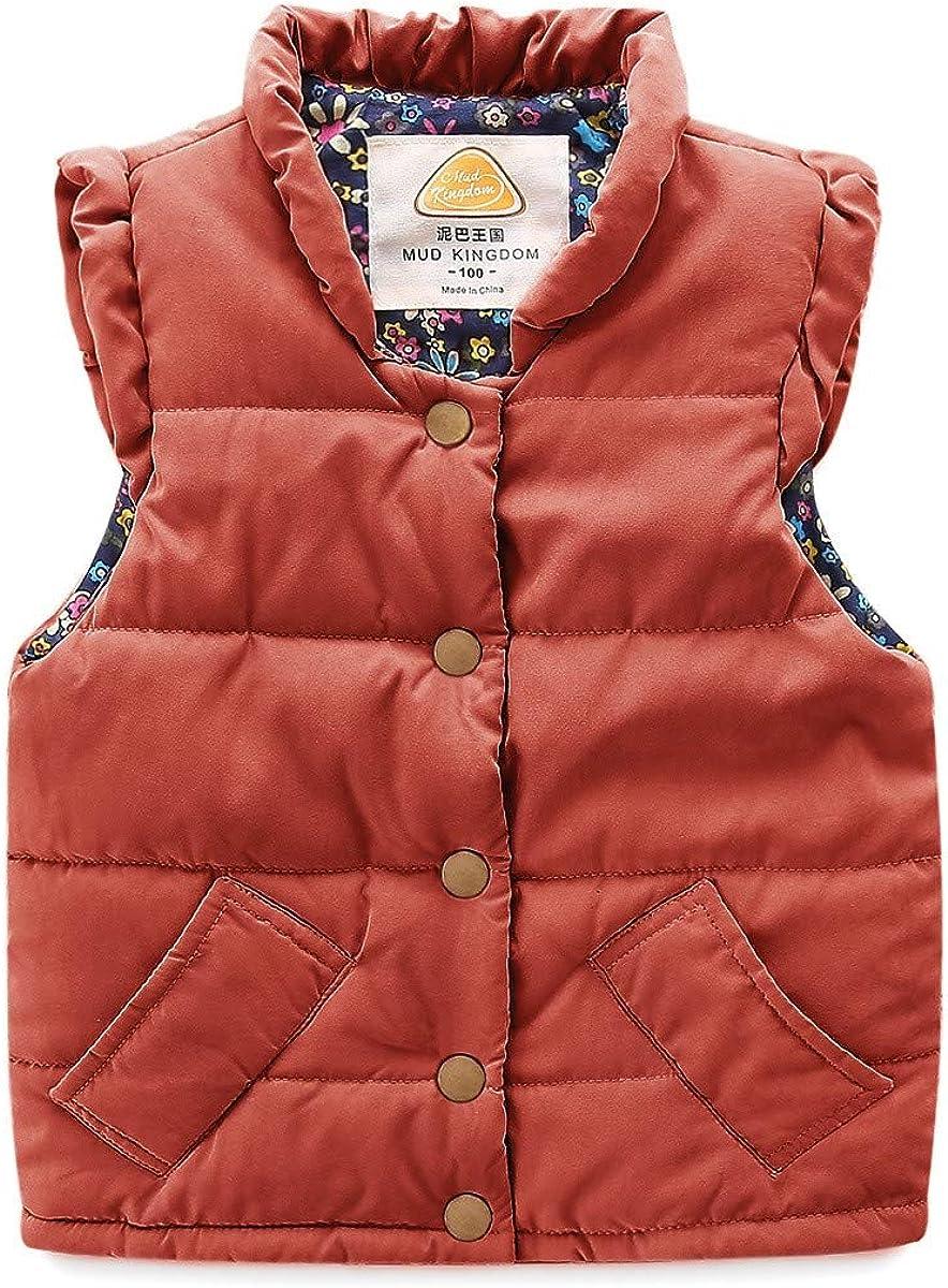 Brand new LittleSpring Cute Girls Winter Recommendation Vest Quilted Lightweight Puffer V