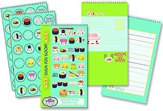 Sugar Lulu Seal 'N Send Stationery: Sushi You Soon Child Stationary