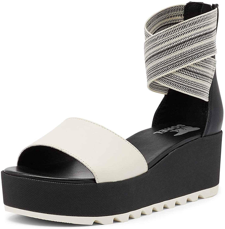 Sorel High quality new Women's Cameron Flatform Ankle Sandal Black Year-end annual account - Strap