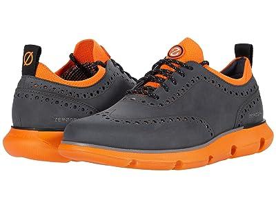 Cole Haan 4.Zerogrand Oxford (Turbulence Nubuck/Vibrant Orange) Men