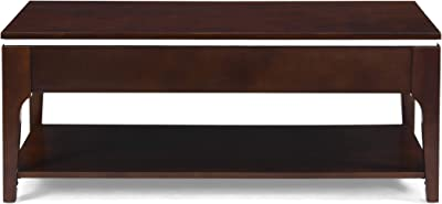 Christopher Knight Home Cherie Coffee Table, Dark Walnut