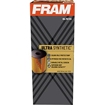 FRAM Ultra Synthetic XG9972, 20K Mile Change Interval Cartridge Oil Filter