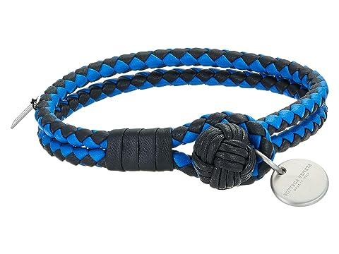 Bottega Veneta Intrecciato Bicolor Bracelet