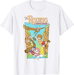 Disney Rescuers Cody Eagle Poster Style Distressed T-Shirt