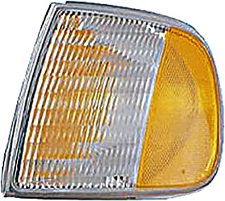 Dorman 1630260 Front Driver Side Turn Signal / Parking Light Assembly for Select Ford Models