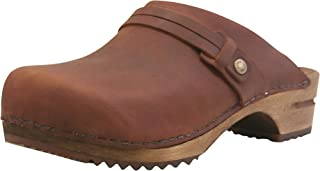 Sanita | Ursana Open Clogs | Original Handmade | Flexible Leather Clogs for Women