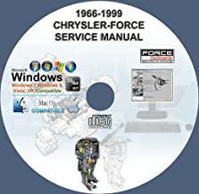 Chrysler N Force Outboard Motor Service Manual Library