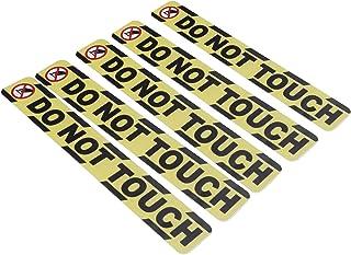 Waarschuwingssticker, niet aanraken-sticker, oliebestendige vloersticker, niet-vervagend voor de slaapkamer in de woonkamer