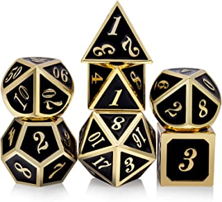metal d&d dice