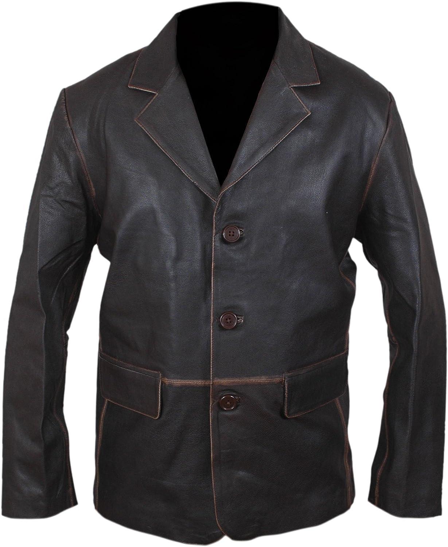 Vintage Style Genuine Leather Coat