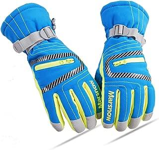 LoveKids Waterproof Warmest Winter Snow Gloves for Boys and Girls