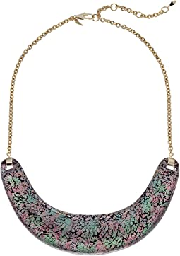 Crescent Bib Necklace