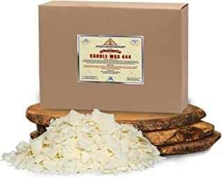 All Natural, Golden Brands, Candle Making Soy Wax 444 Flakes 50 LB (800 oz) Unscented, USA Made, for DIY Candle Making, Ca...