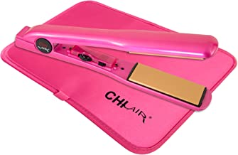 CHI Expert Classic Tourmaline Ceramic Hair Straightening Iron in Pure Pink