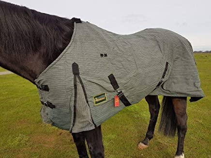 Rumani Ripstop Waterproof Breathable Polycotton Canvas Miniature Lined Horse Rug