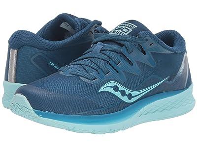 Saucony Kids S-Ride ISO 2 (Little Kid/Big Kid) (Blue/Aqua) Girls Shoes