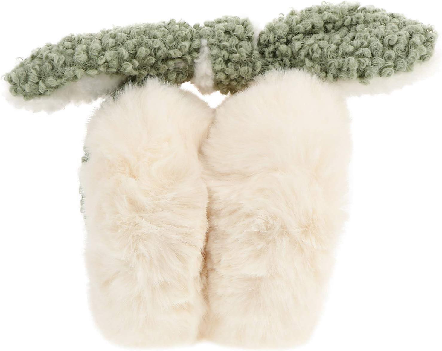 TOYANDONA Winter Fleece Ear Warmers Muffs Cute Plush Earmuffs Headband Hair Hoop Ear Cover for Winter Cold Weather- Beige