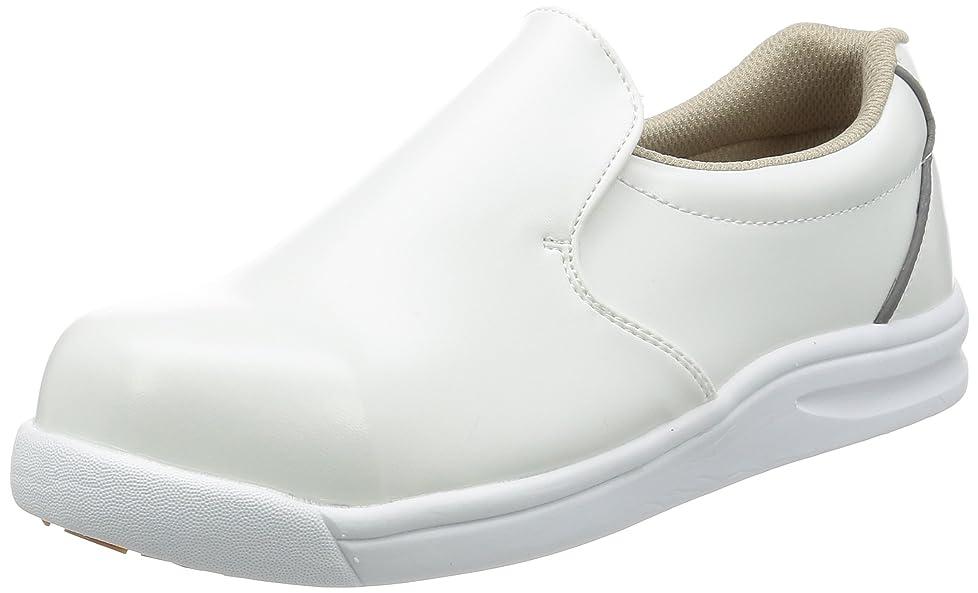 極貧できれば軍艦[ノサックス] 厨房靴 コックシューズ 耐滑 軽量 先芯入り グリップキング メンズ