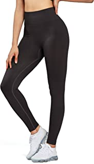 Aoxjox Women's High Waist Workout Sport Gym Ultra Seamless Leggings Yoga Leggings