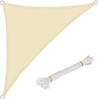 WOLTU Toldo Vela de Sombra Triángulo Prevención Rayos UV