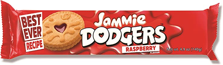Burton's Jammie Dodgers, 4.9 Ounce (Pack of 18)